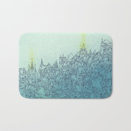 A Quiet Raft Bath Mat