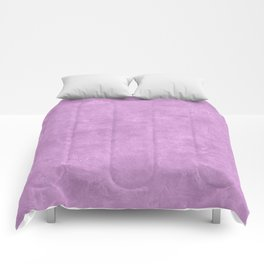 Violet Tulle Oil Pastel Color Accent Comforters