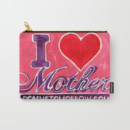 I LOVE MOTHER Carry-All Pouch