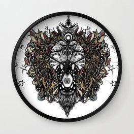 Cosmic Ragga Lion Wall Clock