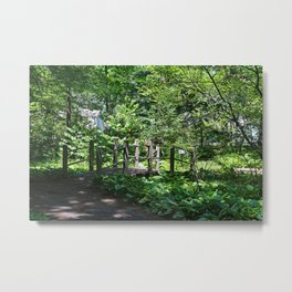 A Turn in the Garden Metal Print