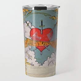 Halsey Heart Tarot card Travel Mug