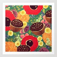 Garden City Art Print