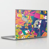 ale giorgini Laptop & iPad Skins featuring 1966 by Ale Giorgini