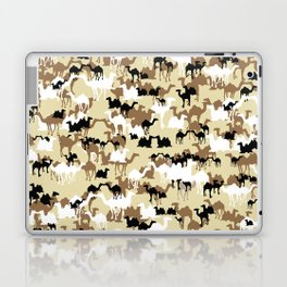 CAMELFLAGE - Desert Storm Sand Laptop & iPad Skin