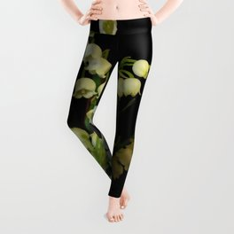 lilly of the valley 3 Leggings