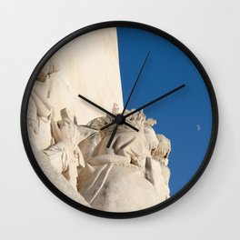 Monument of the Discoveries detail Wall Clock