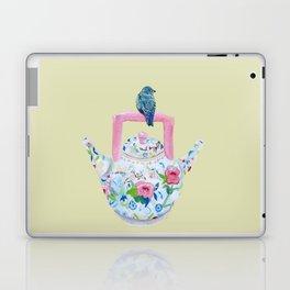 Bluebird and Teapot Laptop & iPad Skin