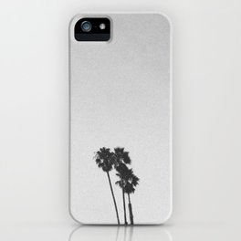 PALM TREES III / Santa Cruz, California iPhone Case