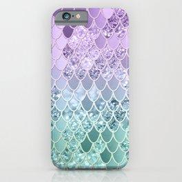 Mermaid Glitter Scales #1 #shiny #decor #art #society6 iPhone Case