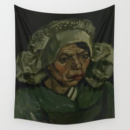 Head of a Woman Wall Tapestry