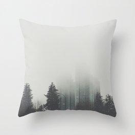 Into Thin Air Throw Pillow