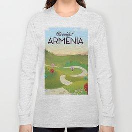 Armenia Travel poster. Long Sleeve T-shirt
