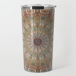 Gentle Touch Mandala Art Travel Mug