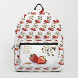 Strawberry and Pollinators Backpack
