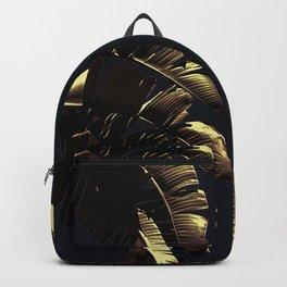 Golden Palm Backpack