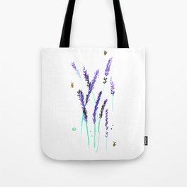 Lavender & Bees Tote Bag
