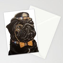 Regal Pug Stationery Cards