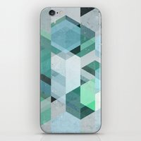 nordic iPhone & iPod Skins featuring Nordic Combination 22 by Mareike Böhmer