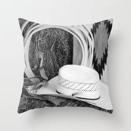 Cowboy Still Life Throw Pillow