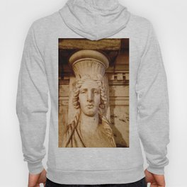 Classical Lady Stone Sepia Hoody