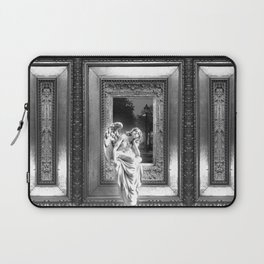 Angel of Bristol (BW) Laptop Sleeve