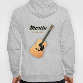 Wonderful Martin Acoustic Guitar  Hoody