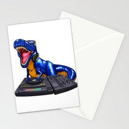 DJ Trex Turntable Music Novelity Equalizer Stationery Cards