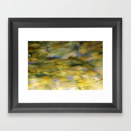 Abstract Green Framed Art Print