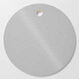 White & Grey Simulated Carbon Fiber Cutting Board
