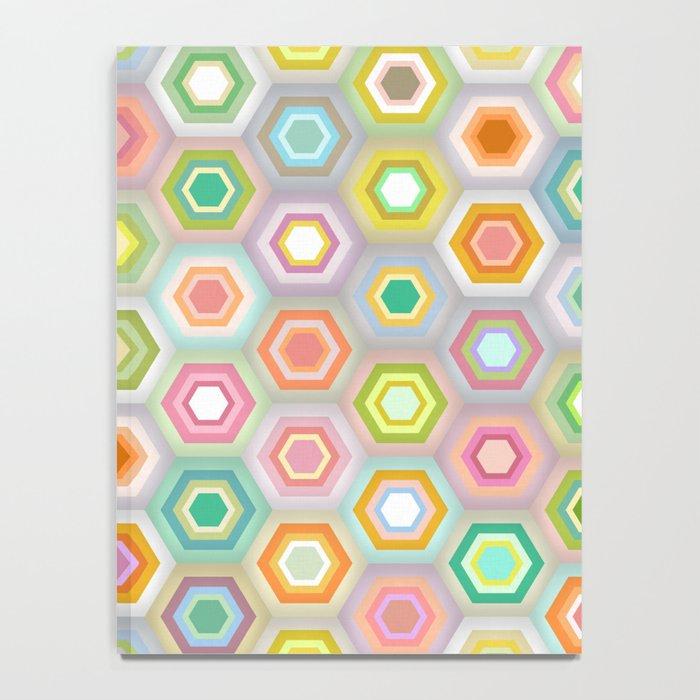 granny pastel hex Notebook