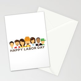 Happy Labor Day Stationery Cards