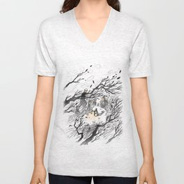 Could It Be The Wind? Unisex V-Neck
