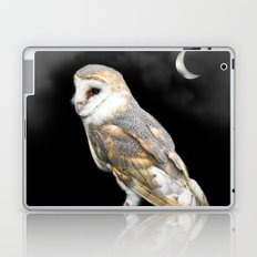 The Owl and the Moon Laptop & iPad Skin