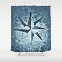 """destiny Shower Curtains featuring """"Destiny"""" by Guido Montañés"""