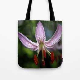 Pink Martagon Lily 'Moonyeen' Tote Bag