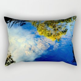 Reflections from Above! Rectangular Pillow