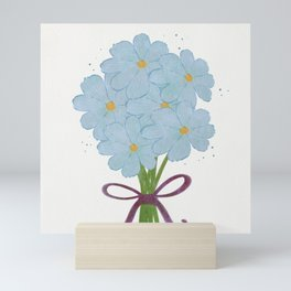 Bouquet of Flowers Mini Art Print