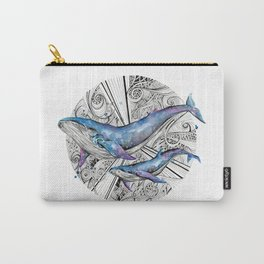 Space Whales Carry-All Pouch