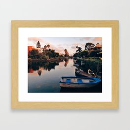 Row Boats Framed Art Print