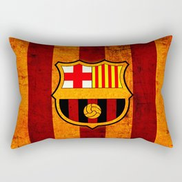 football team catalunya Rectangular Pillow