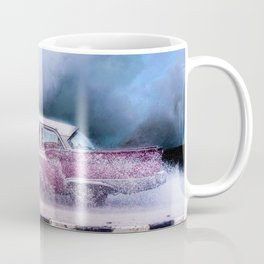 Waves and Classic Cars of the Malecón - 9 Mug