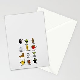 Mr. and Little Miss SW Stationery Cards