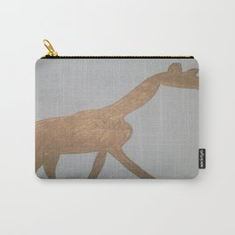 Bronze Giraffe Carry-All Pouch