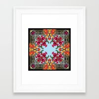 givenchy Framed Art Prints featuring Givenchy Print by I Love Decor