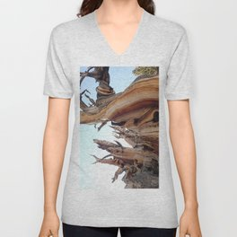 Trees twisting in the wind Unisex V-Neck