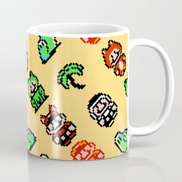 Super Mario Bros. 3 (NES) pattern | sand Coffee Mug