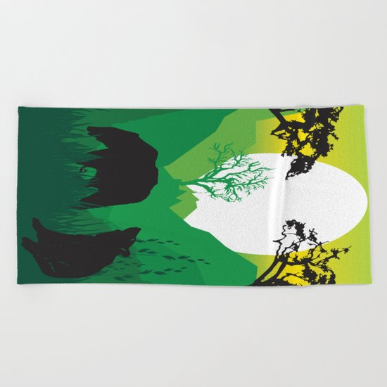My Nature Collection No. 50 Beach Towel