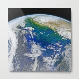 Earth 2 Metal Print