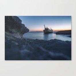 Shipwreck Canvas Print